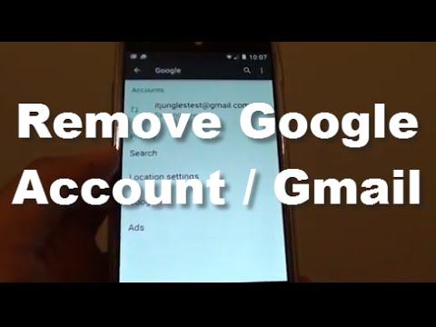 Google Nexus 5: How to Remove Old Google Account