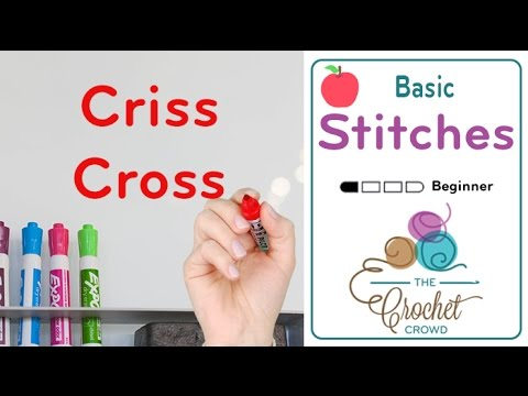 How To Crochet Criss Cross Crochet