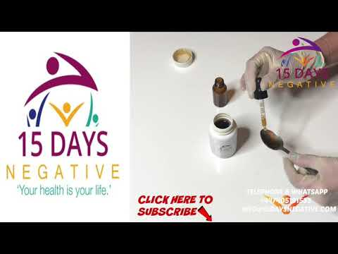 HOW TO USE THE HIV LUQID  IT WILL BOOST UP YOUR CD4 COUNT, REMOVE THE VIRUS FROM YOUR SYSTEM