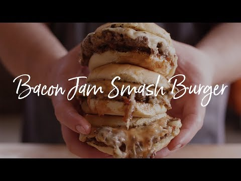 Bacon Jam Smash Burger | Chef Tom's South Beach Wine and Food Festival Recipe