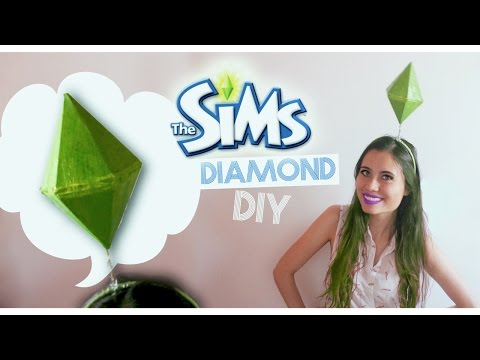 SIMS DIAMOND/PLUMBOB DIY!! (Sims Costume)