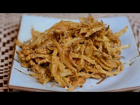 No Buttermilk Recipe for Crispy Onion Straws