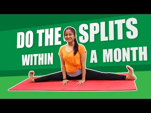 How to practice split in a month| complete split
