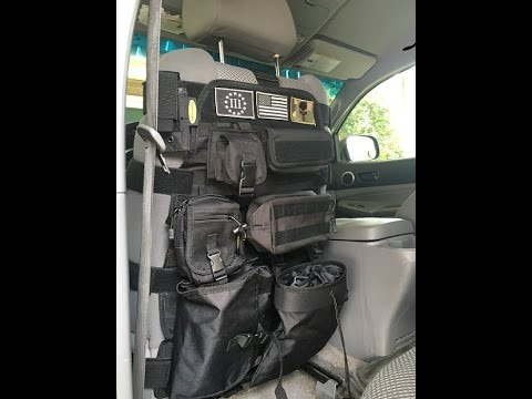 TACTICAL SEAT COVER FROM SMITTY BUILT