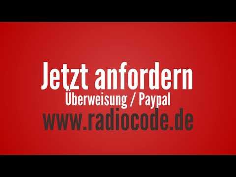 Audi Radio Code Radiocode verloren finden bestellen Unlock Service