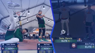 DEMI GOD KLAY THOMPSON IN THE PARK NBA 2K19! TAKING OVER THE