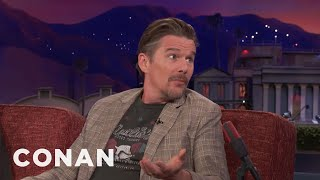 """Ethan Hawke Desperately Wants To Be In A """"Star Wars"""" Movie  - CONAN on TBS"""