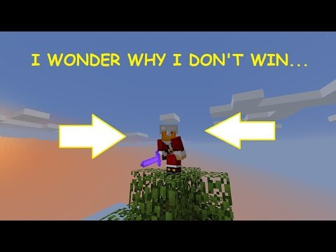 Minecraft : Sky Wars | I'M NEVER GOING TO WIN