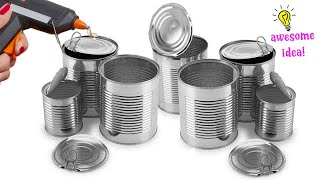 14 BRIGHT IDEAS TO REUSE/RECYCLE TIN CANS| Best Reuse Idea