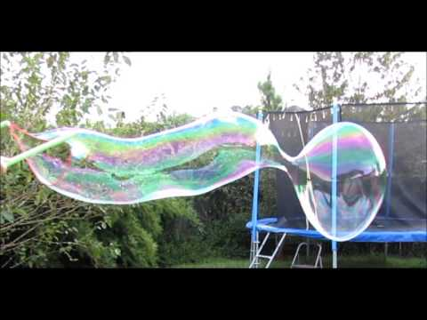 WOWmazing Kit Plus - Giant Bubble Wand and Big Bubble Solution Concentrate to make GIANT Bubbles!
