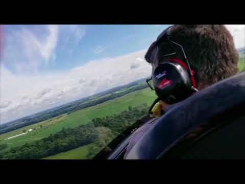 PRA Mentone Indiana American Ranger with new enclosed cockpit view filmed July 30th