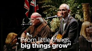 """""""from Little Things, Big Things Grow"""": Paul Kelly, Kev Carmody Remember Gough In Song"""