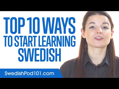 Top 10 Ways to Start Learning Swedish