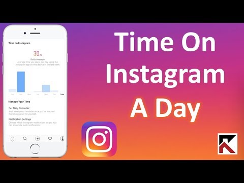 See How Much Time You Spend Per Day On Instagram