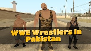 WWE Wrestlers In Pakistan - By Metal Gamers