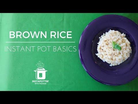 Brown Rice | Instant Pot Basics | Episode 031