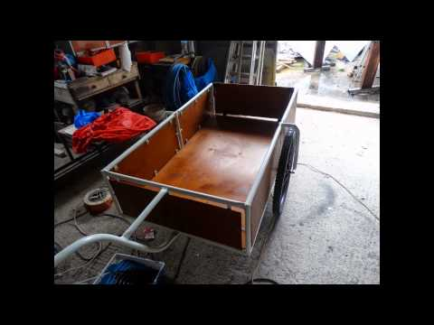 how we make bicycle trailer       www.roni-construction.com