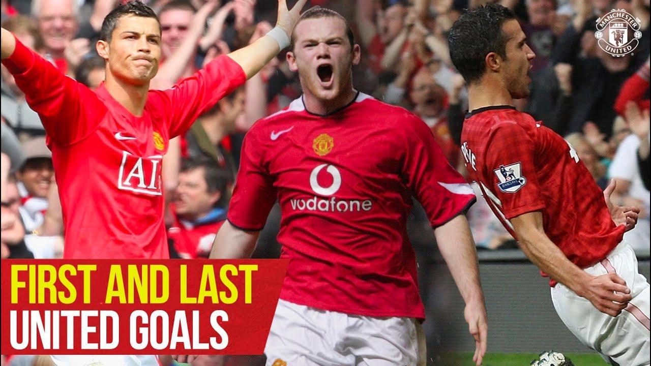 First and Last Goals   Rooney, Ronaldo, Solskjaer, Van Persie   Manchester United