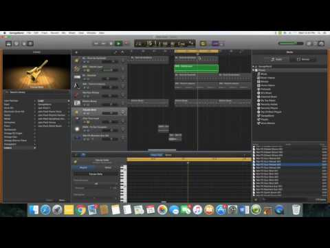 How to make a trap beat in Garageband PT 1