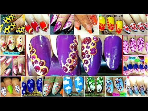 15 Dotting Tool Nail Art Designs Compilation in 5 Minutes