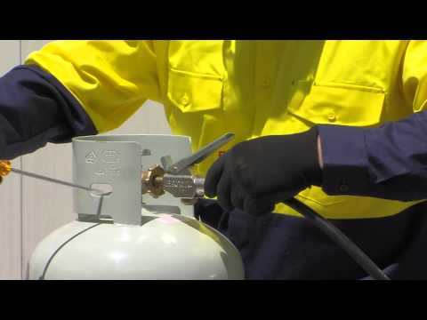 How to safely decant LPG (Liquefied Petroleum Gas)
