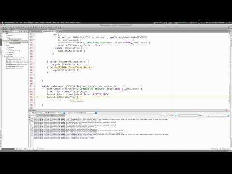 Como crear un Archivo PDF desde Android