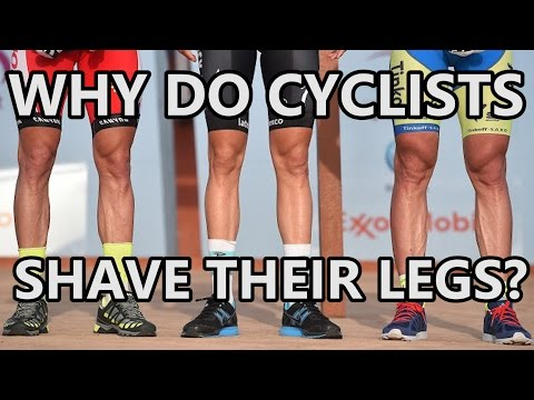 Why Do Cyclists Shave Their Legs?│Tips on How to Shave legs for Cycling!
