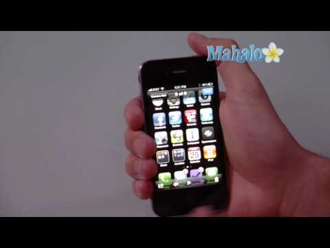 How to take a screen shot with iPhone 4