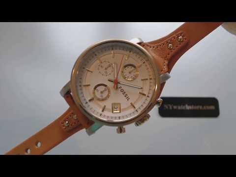 Women's Fossil Original Boyfriend Chronograph Watch ES3615
