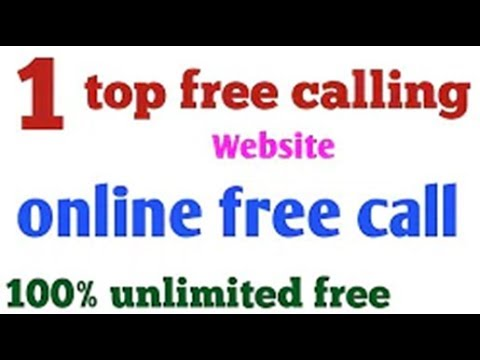 New best free calling website online Call unlimited 2018 Tricks