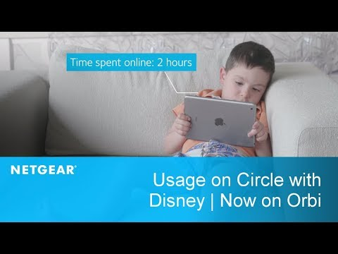 Usage on Circle with Disney | Now on Orbi Home WiFi System by NETGEAR
