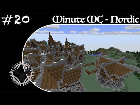 Minute Minecraft - Time Lapse - Nordic Village - Ep.20