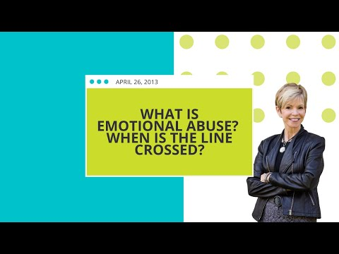 What is Emotional Abuse? When is the Line Crossed?
