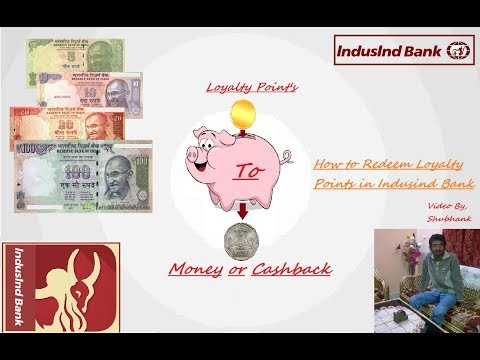 How we can Redeem Loyalty Point's of Indusind Bank by Online Net Banking (Shubhank Gupta)