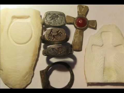 Cuttlefish casting Lesson easy Make a Roman style Bronze ring