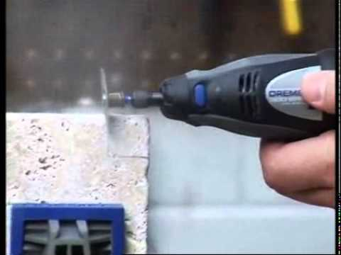 How to Cutting Ceramic Tile - DREMEL - Origo DIY Tools