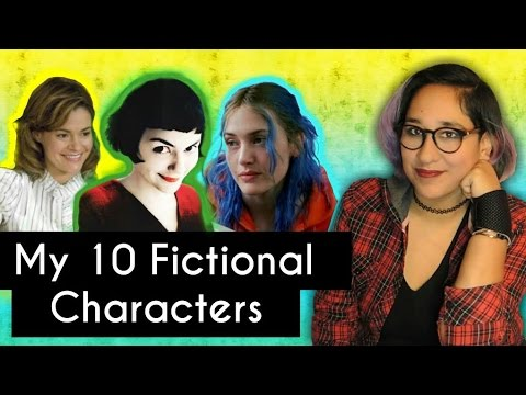Describe Yourself: 10 Fictional Characters [CC]