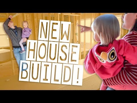 UNFINISHED HOUSE TOUR! | Home Building Process