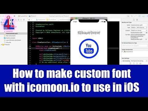 How to make own icon font using icomoon.io with svg file | Icon Font & SVG Icon Sets ❍ IcoMoon