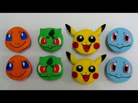 how to make pokemon cupcakes