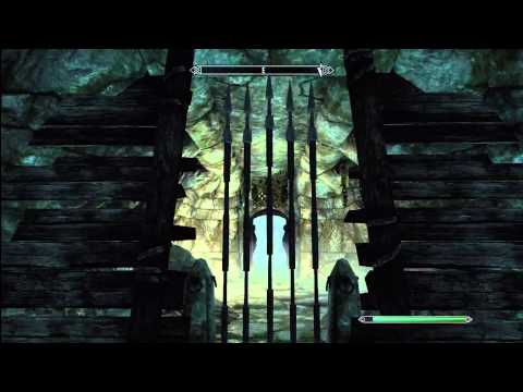 Skyrim: Silverdrift Lair Door