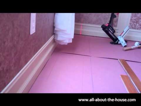 Installing Hardwood Flooring - Part 1