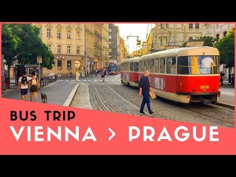 Vienna to Prague Bus Trip