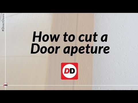 How we cut a door aperture