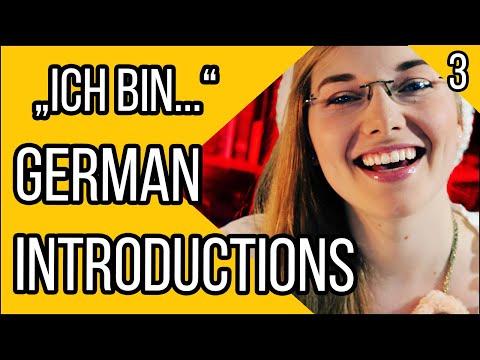 Learn German | How to Introduce Yourself in German | Deutsch Für Euch 3