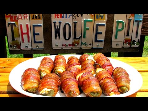 How to make Jalapeño Poppers! - BEST EVER Bacon Wrapped Poppers Recipe