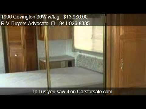 1996 Covington 36W w/tag  - for sale in  , FL 34239