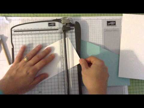 How to make a Tri fold Card