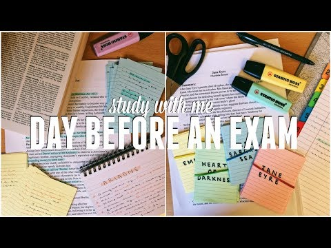 CRAM WITH ME! Day Before an Exam Revision (15 HOUR STUDY WITH ME AT UNIVERSITY) | Jack Edwards
