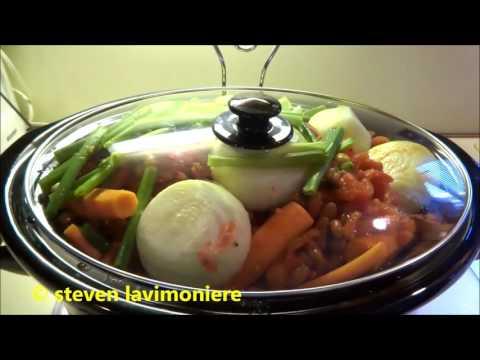 pork roast meal in crock pot